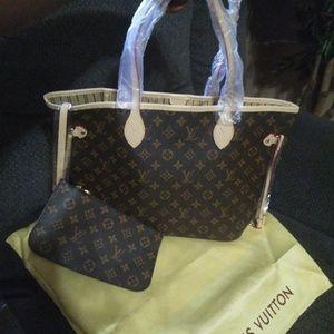 Louis Vuitton purse an wallet